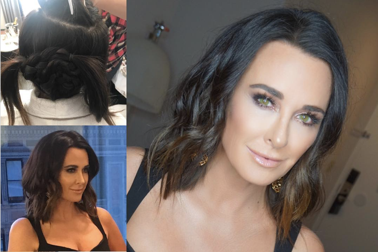 Kyle Richards Traded Her Super Long Hair For A Bob And It Is Stunning Julius Michael Scarsdale